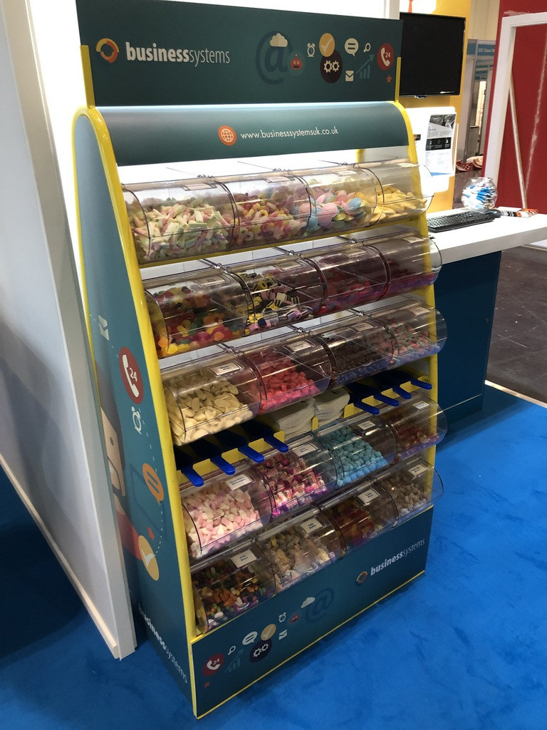 business exhibition branded sweets