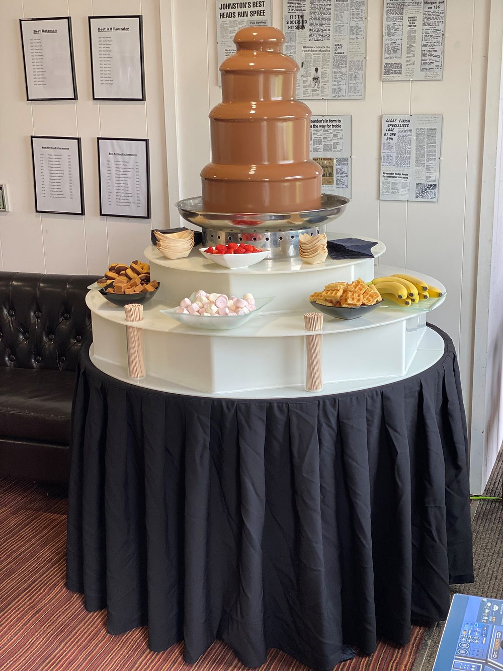 chocolate fountain hire kent london