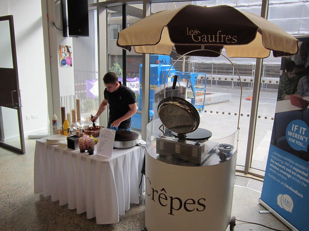 pancake event hire