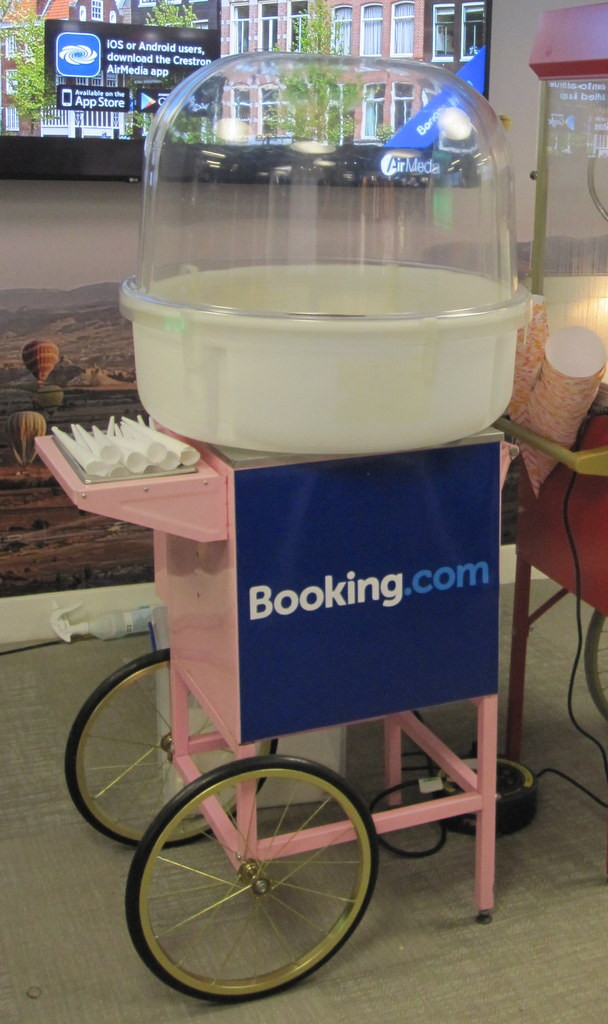 corporate candy floss hire