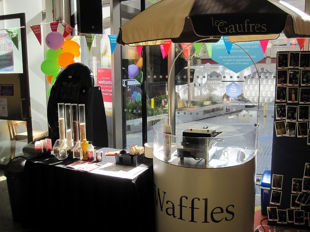 hire waffle cart london