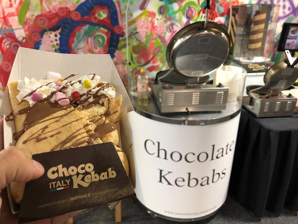 chocolate kebab hire