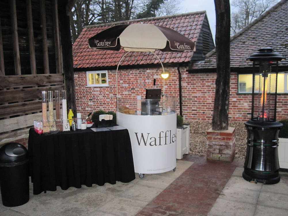 waffle cart hire wedding