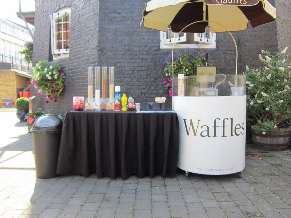 waffle event hire