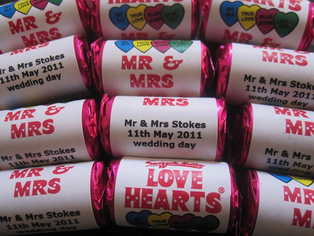 name your weddings sweets