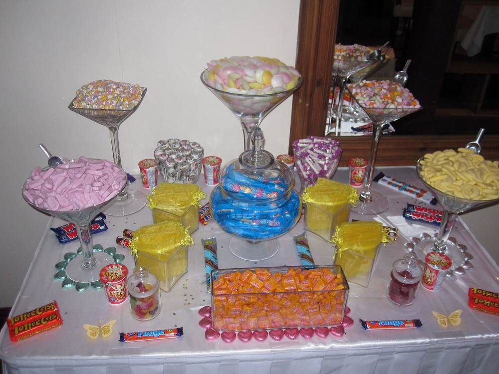 kent sweets table hire