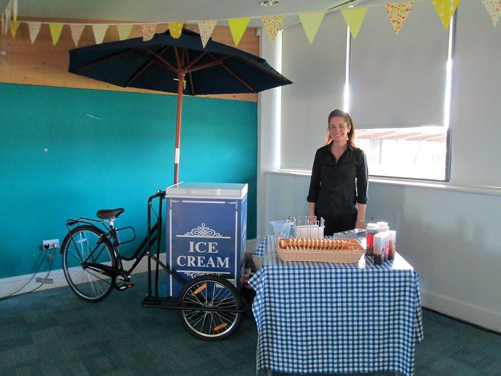 ice cream tricycle hire