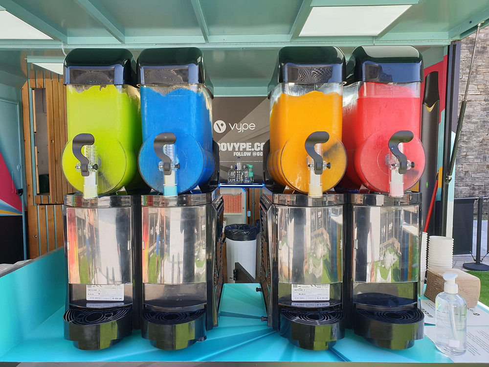 4 slush machines hire uk
