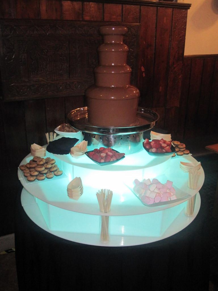 chocolate fountain london