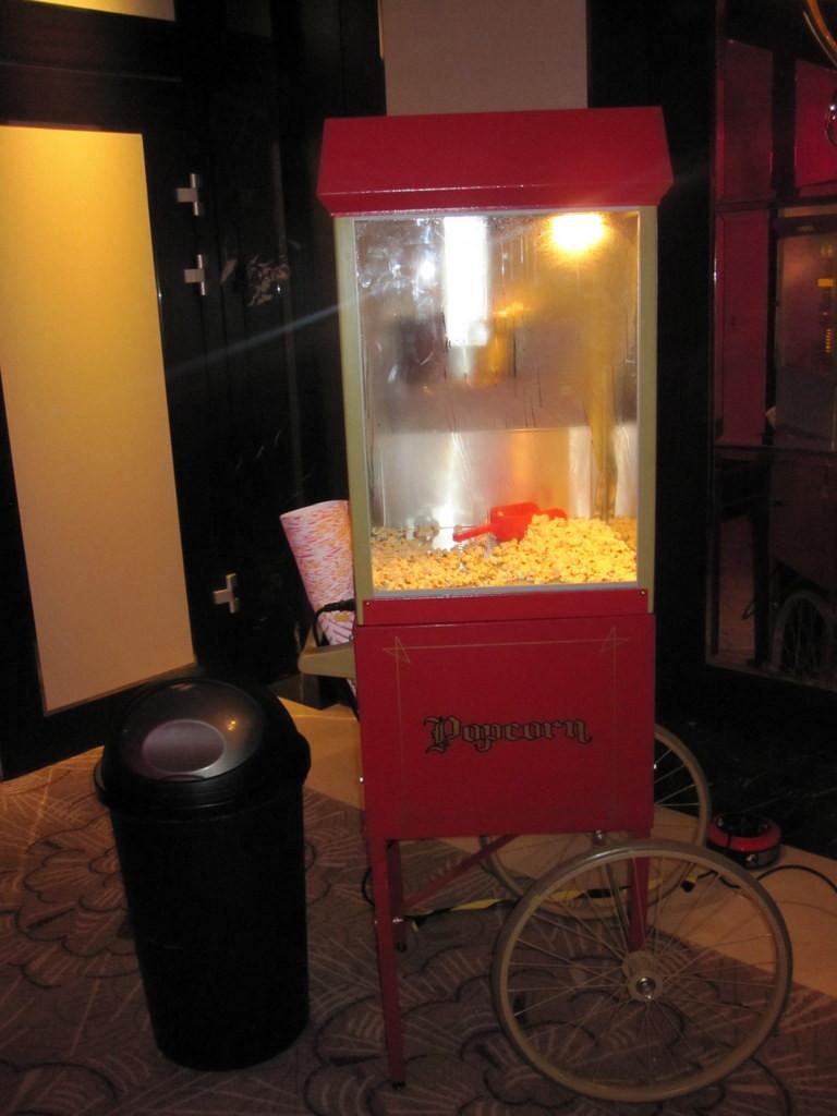 corporate popcorn hire