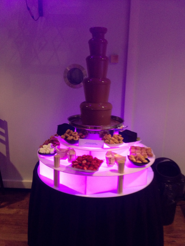 chocolate fountain hire parties