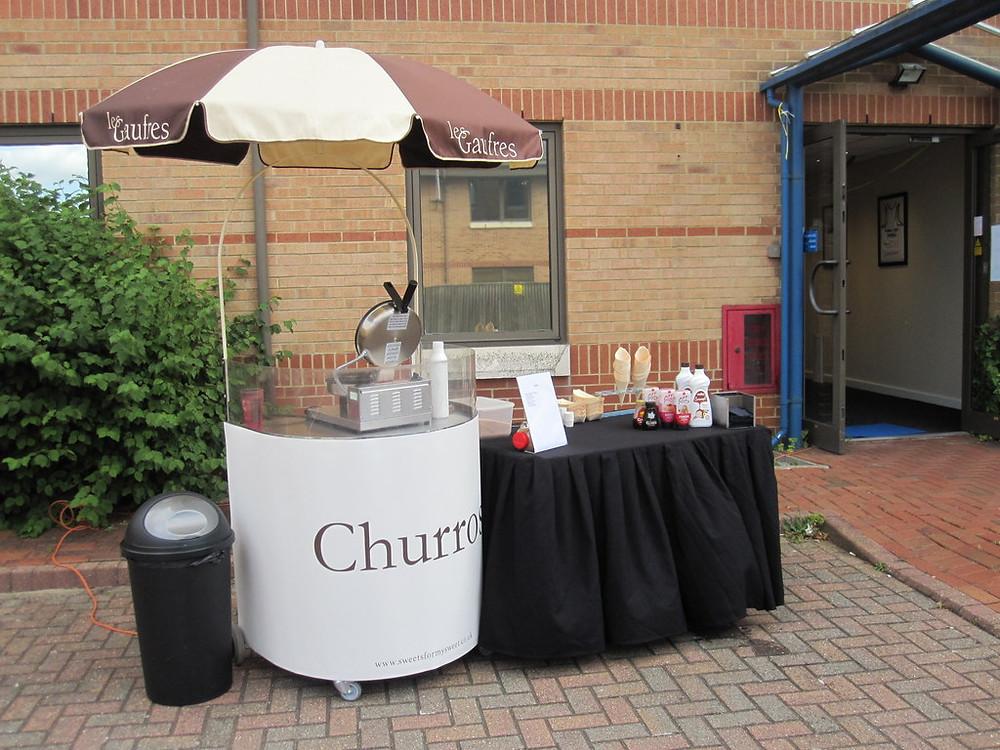 churros cart hire