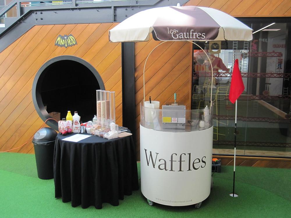 hire waffle machine london