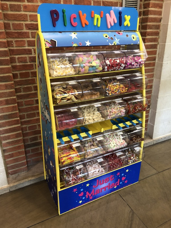 sweets stand hire uk