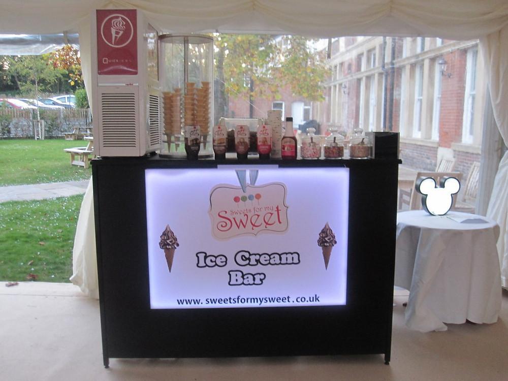 ice cream party hire