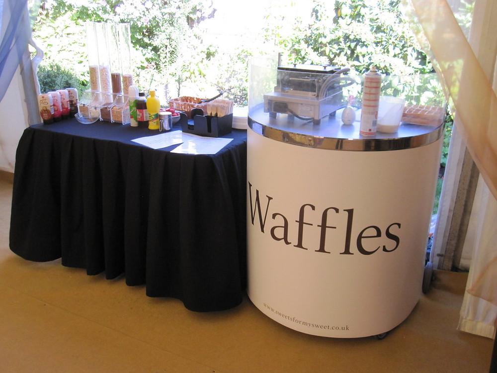 hire waffle cart surrey