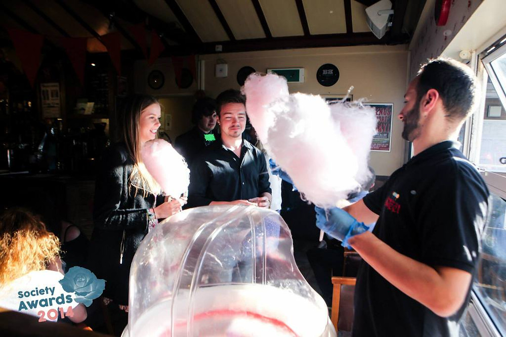 candy floss awards hire