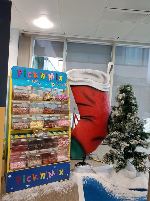 pick n mix hire london office party