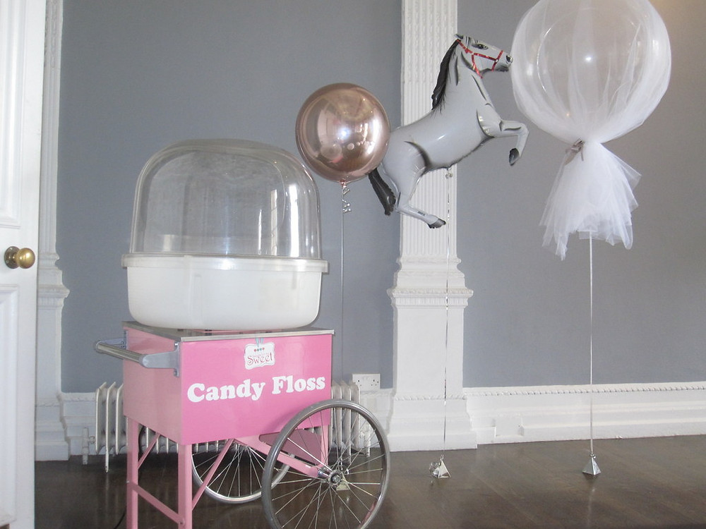 candy floss for hire london