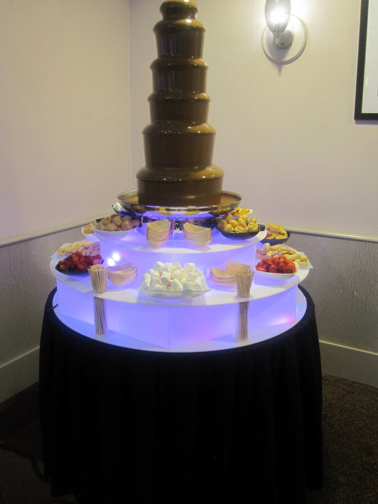 chocolate fountain hire london office