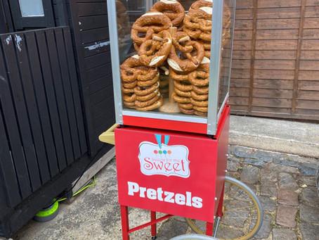 Pretzel stand hire