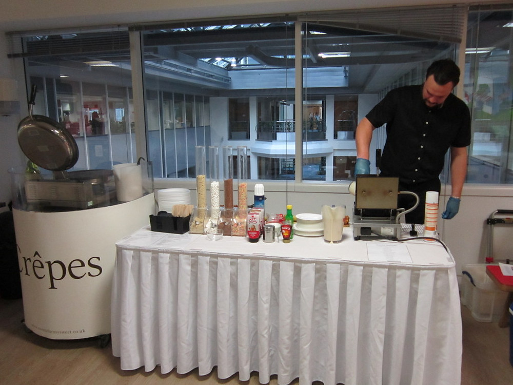 crepes hire office