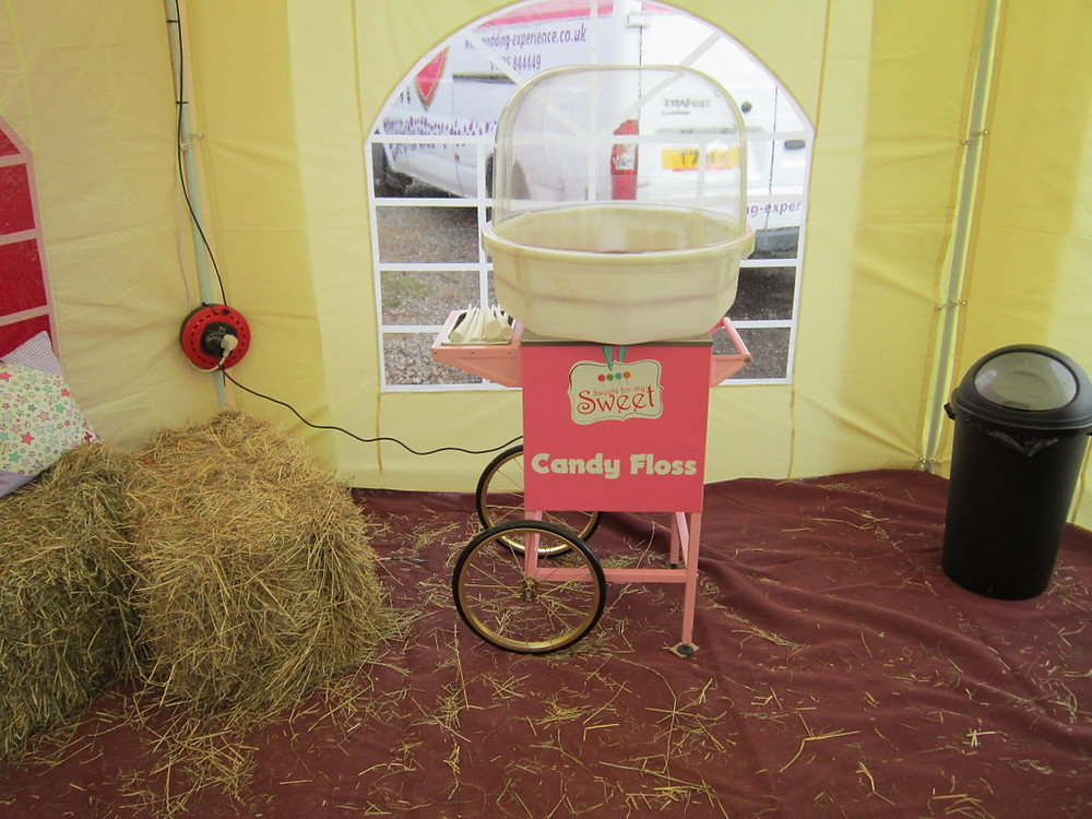 candy floss hire at events