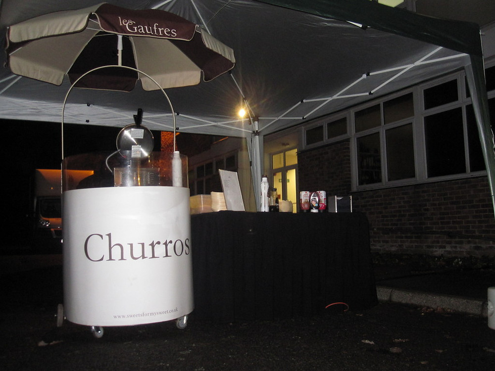 churros hire college event