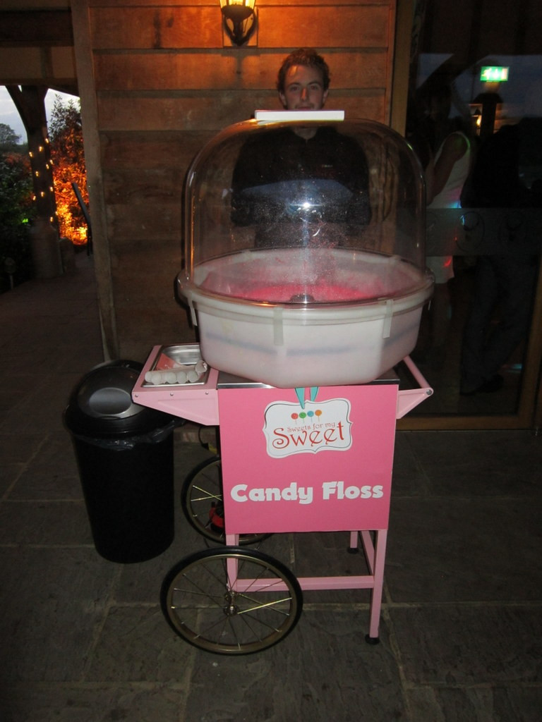 candy floss just married