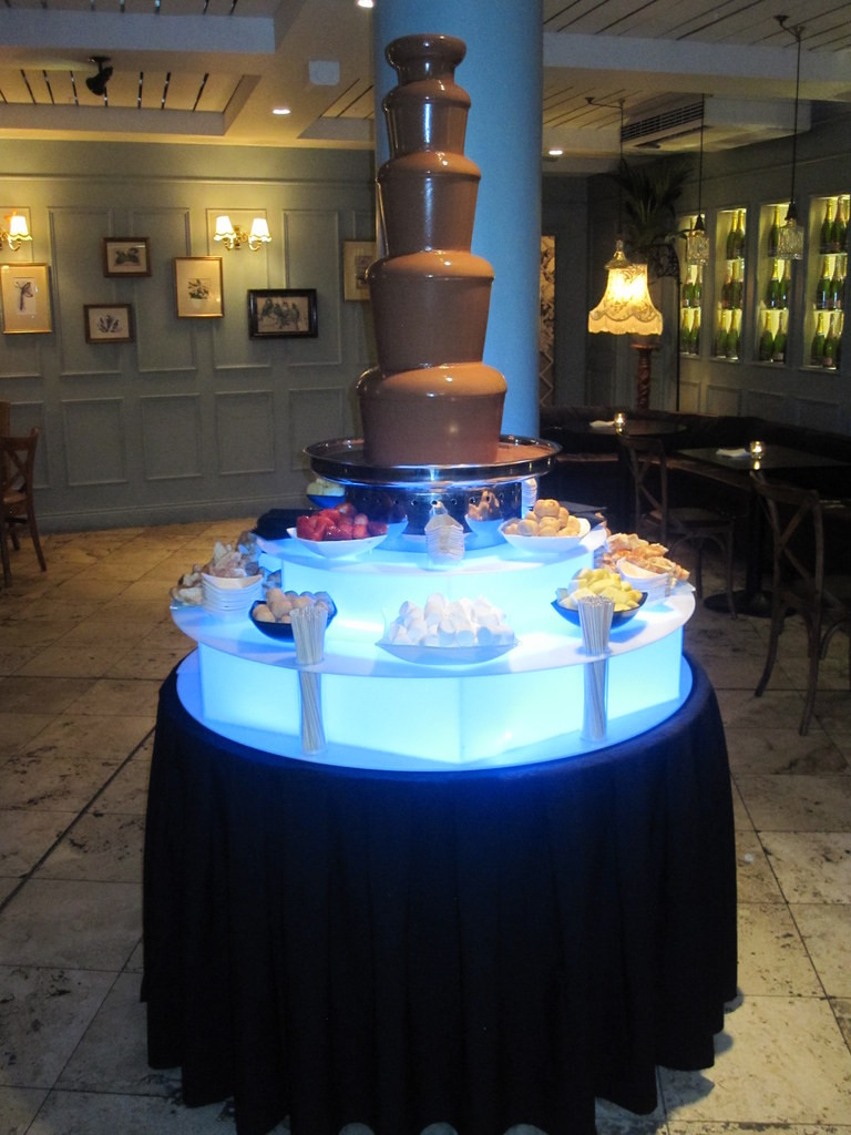 chocolate fountain hire around london