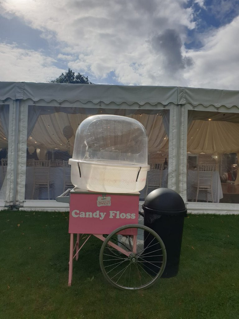 candy floss event hire london