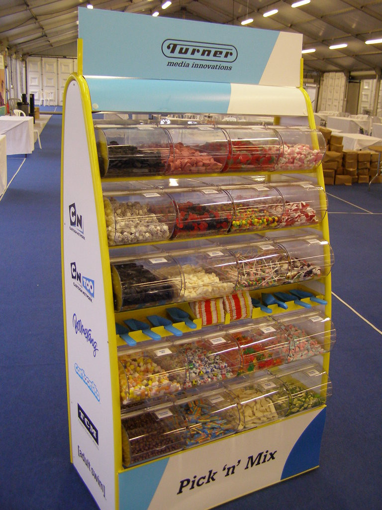 branded sweets unit hire