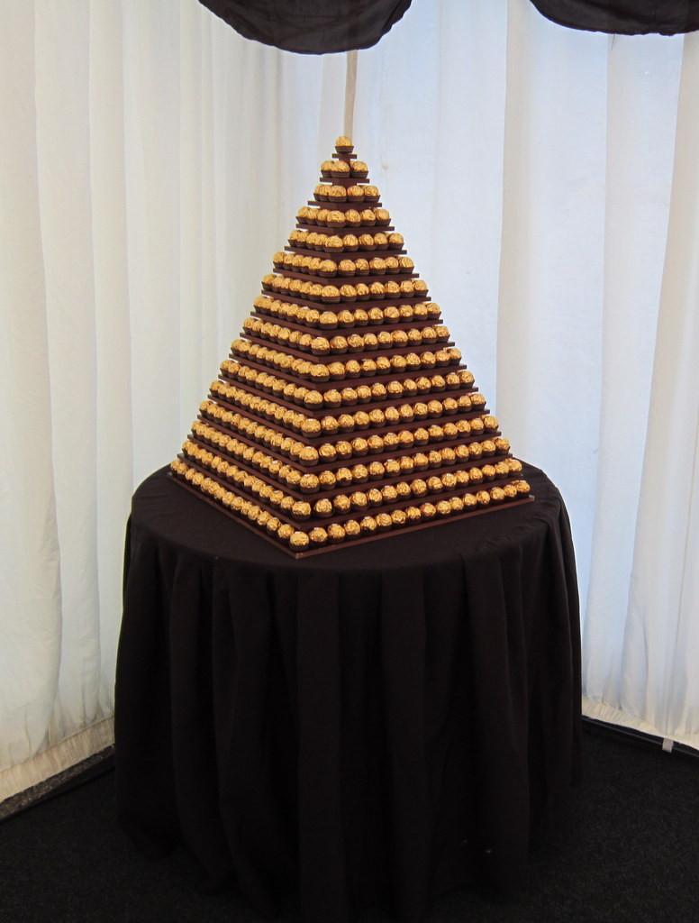 ferrero rocher pyramid vip