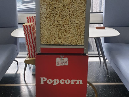 Popcorn hire Celtic Manor Newport