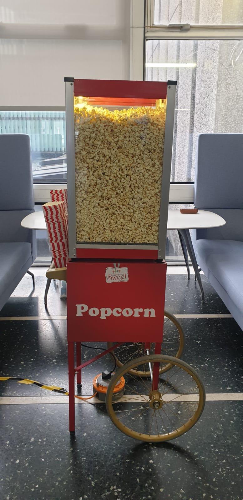 Popcorn hire Celtic Manor Newport