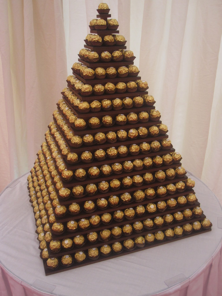 ferrero rocher tower hire london