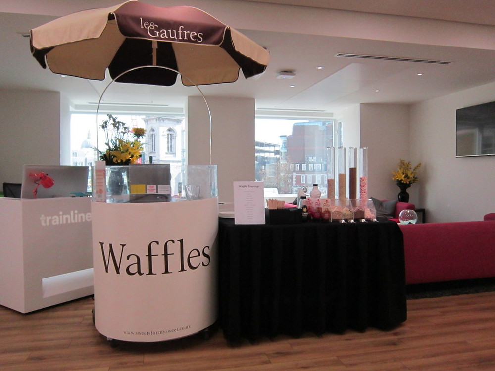 Waffles hire for your event