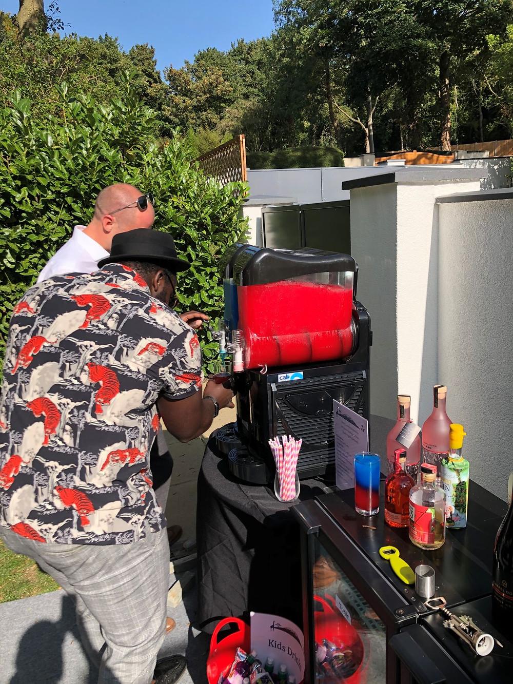 slush machine hire weddings