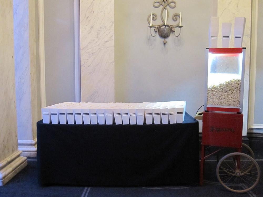 popcorn exhibiton hire london