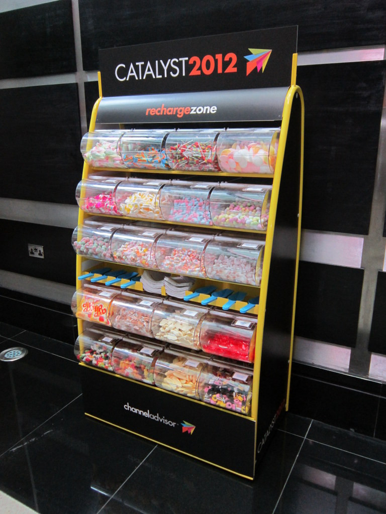 exhibition hire sweets