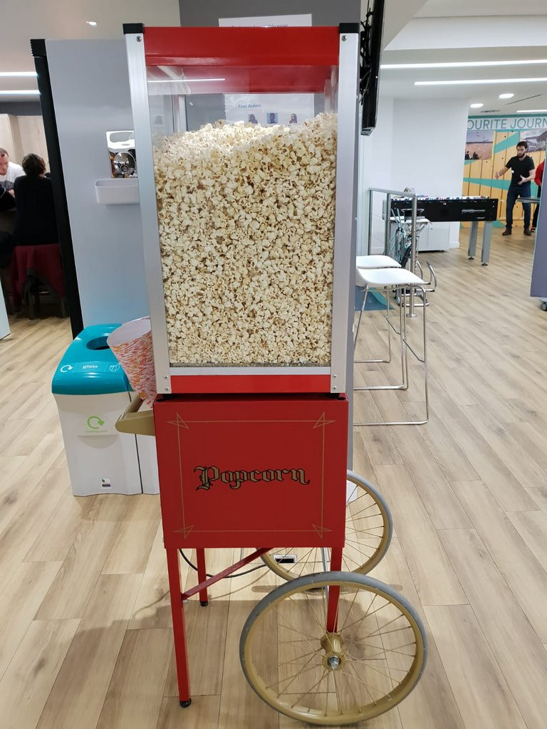 popcorn event cart to hire london