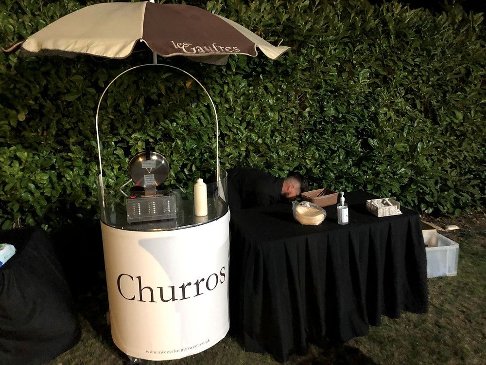 churros wedding hire Kent and London