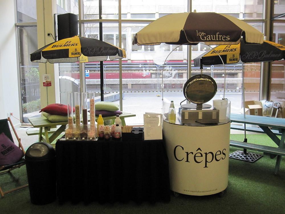 liverpool crepe cart hire