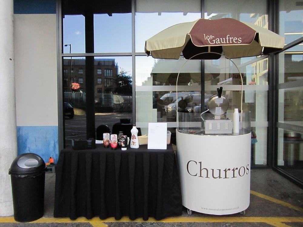 churros hire city