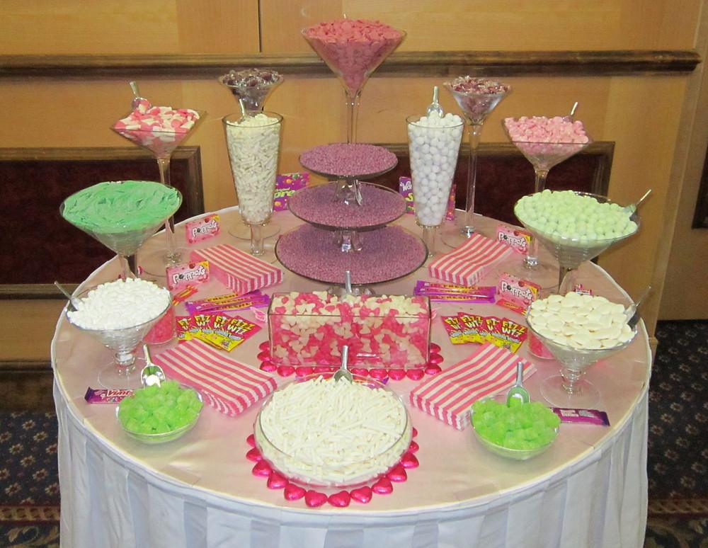 mixed candy buffet