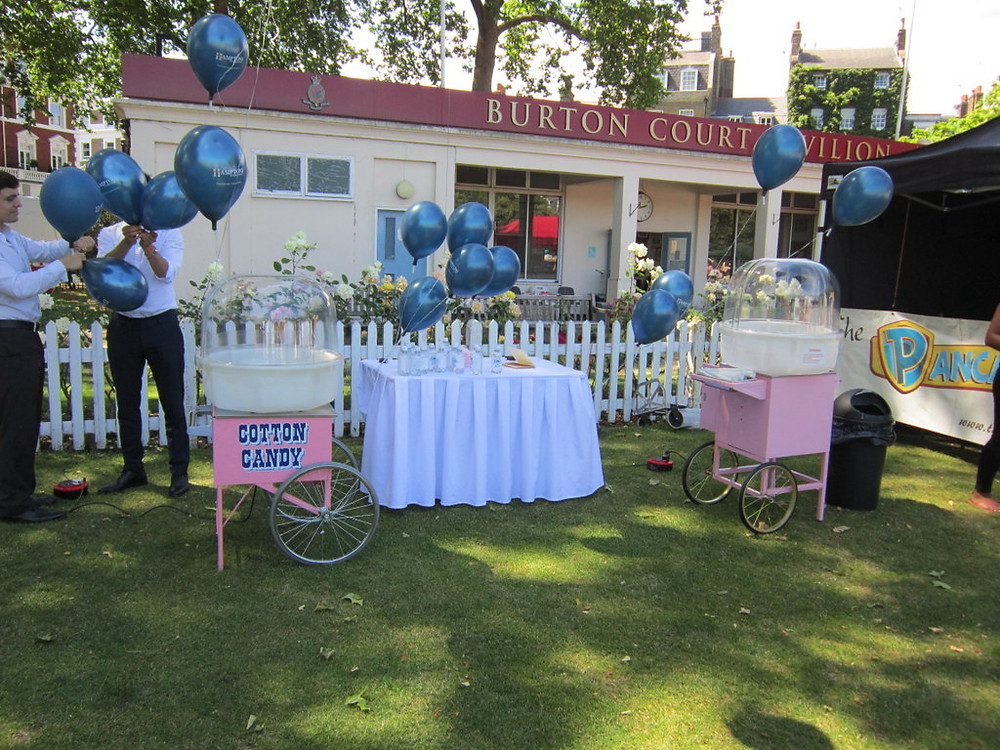 cotton candy rental london