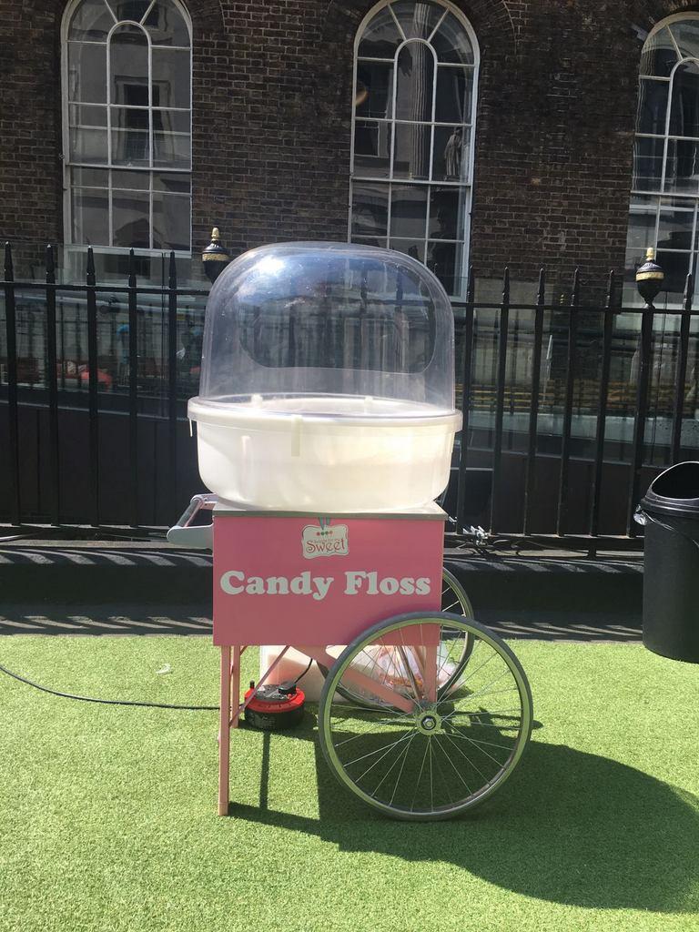 candy floss cart event london