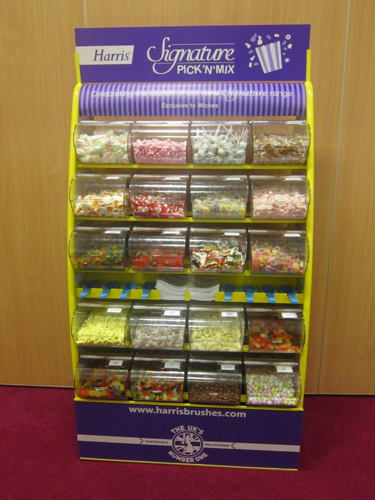 corporate sweet stand hire
