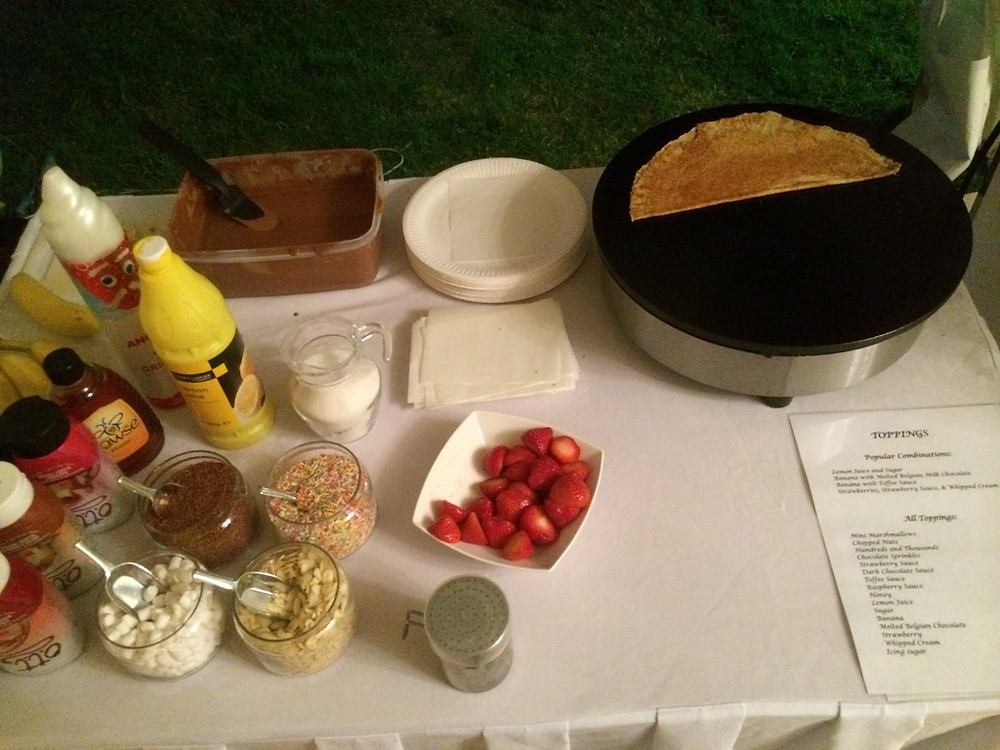 crepe toppings options