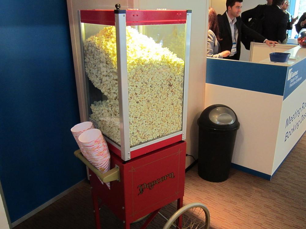 london corporate popcorn hire
